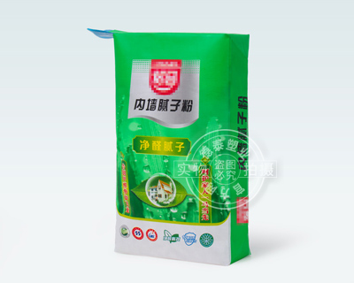 Interior wall putty powder packaging
