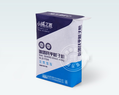 Valve bag for packaging putty powder