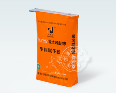 Decorative material packaging bag