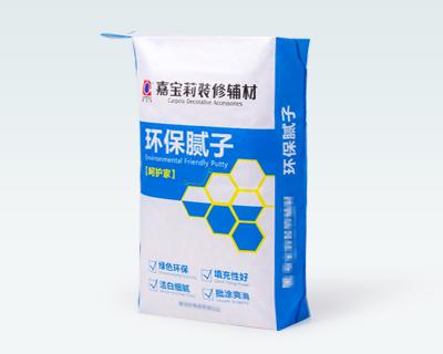 Building material packaging bag