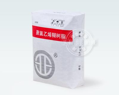 Valve bag for packaging resins