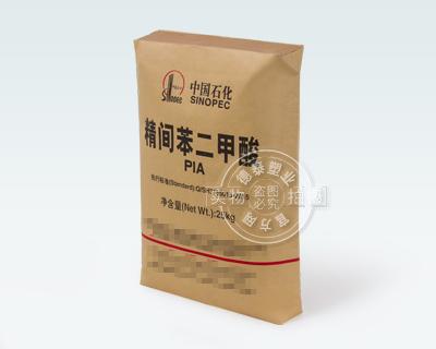 Paper-plastic valve bag for packaging chemicals