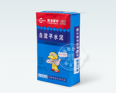 Valve bag for packaging cement